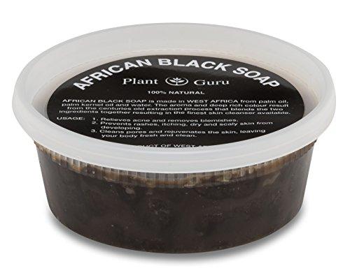 African Black Soap Paste 8 oz. 100%…