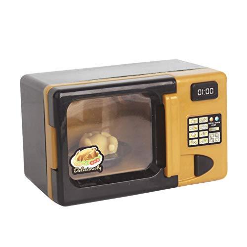 kowaku Juguetes de microondas Juego eléctrico de Cocina de microondas con luz y Sonido niños simulan Jugar Juguete de Horno de...
