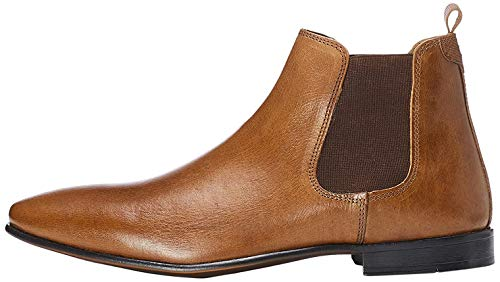 Marque Amazon - find. Homme Chelsea boots, Marron...
