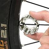 Goabroa Spoke Wrench, Hard Steel 8 Way Bike Rim...