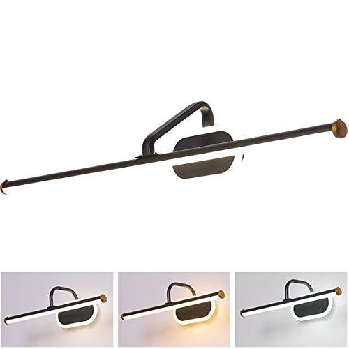 Led-spiegellamp, waterdicht, anti-mist, voor badkamer, make-up, duurzaam met verlichting