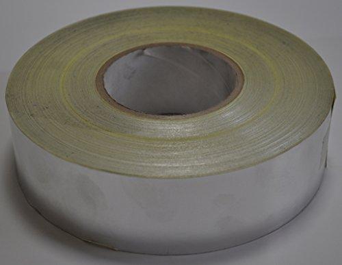Supa-mag ruban adhésif en feuille d'aluminium avec de l'acrylique adhésif à base de solvant et de papier Release Liner. 50 mm de large x 122 m Rouleau