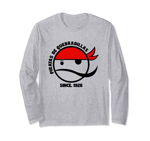 Piratas De Quebradillas Basketball Retro Design Long Sleeve T-Shirt