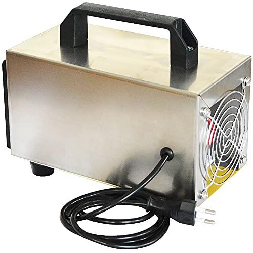 ATWFS 220 V 60.000 mg/H Generador de Ozono , Purificador de Aire Industrial, para Garajes, Granjas, Hoteles y Mascotas, Eliminador de Olores (Sin Temporizador)