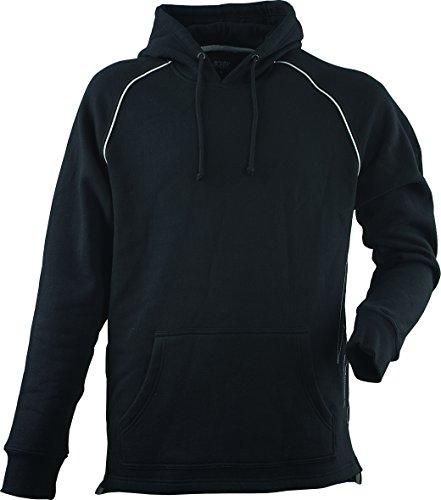 JOB Sweatshirt m. Zunft-Emblem/Symbol DACHDECKER u. Kapuze schwarz (XL)