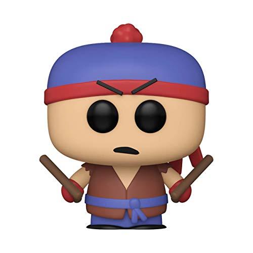 Funko- Pop Animation South Park-Shadow Hachi Stan Figura Coleccionable, Multicolor (51637)