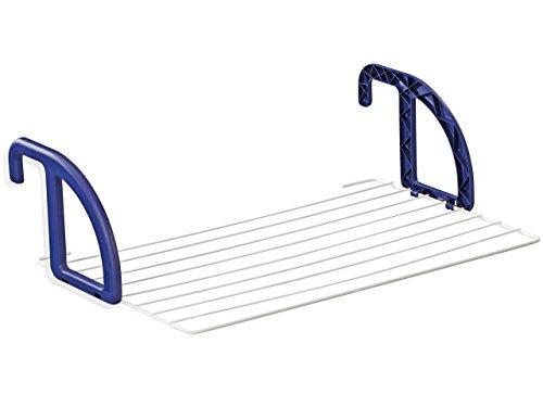 Leifheit Hängetrockner Classic 70, Wandtrockner mit 7m Wäscheleine, flexibel einsetzbarer Heizkörpertrockner, Handtuchhalter für das Bad, für Innen und Außenbereich, Balkonwäschetrockner, Wäschereck