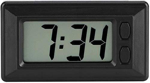 Orologio Digitale Da Auto, 12 ore e Calendario con Magic Sticker 7,7 * 4,2 cm