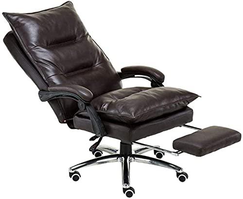 LCNING Silla de Oficina doméstica Sillas de Oficina High Back Office Juego Silla de Juego, sillones...