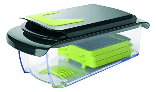IBILI 741700 Coupeur de Légumes, Plastique, Transparent, 28 x 12 x 12 cm