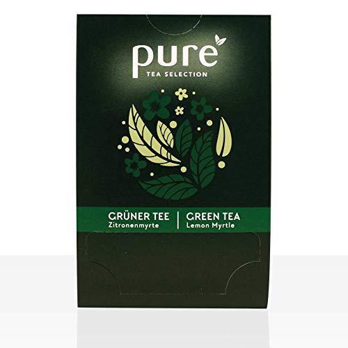 Pure Tea Selection Grüner Tee Lemon   Grüner Tee   25 Teebeutel aus Maisstärke gewebt und industriell kompostierbar   25 x 2g
