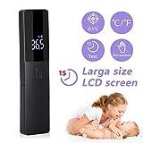 agm thermomètre frontal infrarouge, thermomètre numérique sans contact avec affichage à lcd, thermomètre médical fièvre pour bébé, enfants, adulte