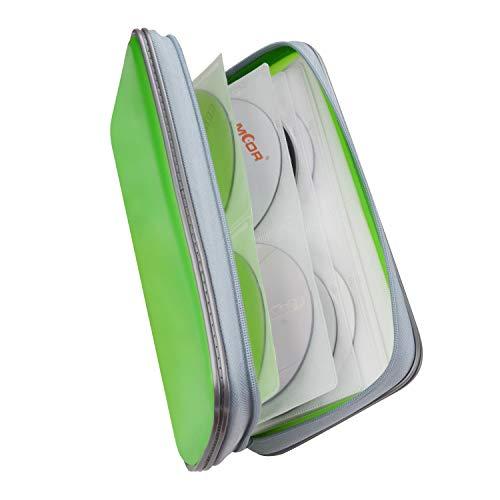Fanspack CD Tasche Kinder 80PCS CD Aufbewahrung Auto DVD Tasche CD Hüllen DVD Hüllen DVD Aufbewahrung