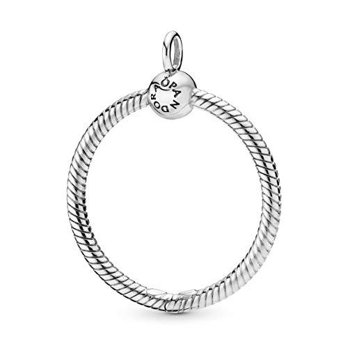 Pandora Moments Medium O Pendant Kettenanhänger Silber 398256