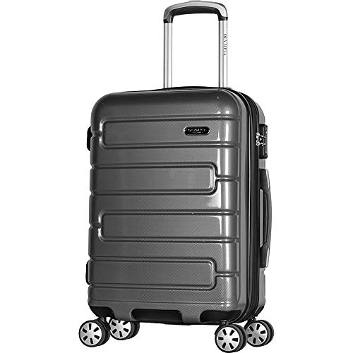 Olympia Nema 22' Exp. Carry-on Spinner, Black, One Size