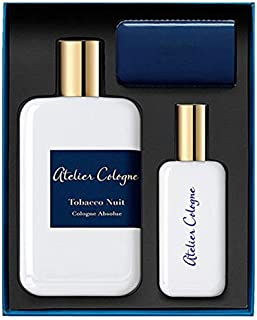 Atelier Cologne Tobacco Nuit Absolue Eau de Parfum 200ml+30ml+Leather Case Trv Set