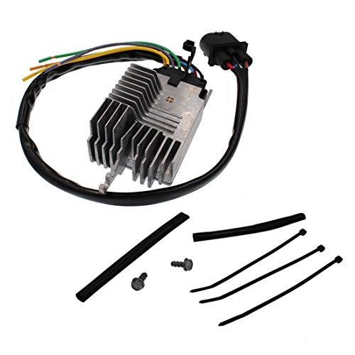HZYCKJ Módulo de control del ventilador Módulo de control del ventilador de enfriamiento del radiador OEM# 8E0959501AG