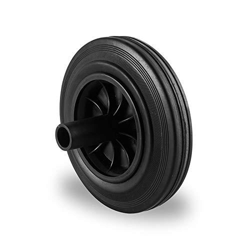 Rueda de repuesto para contenedor de basura de dos ruedas, cubo de basura de 200 mm