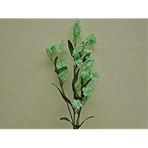 for 12 Sprays Gypsophila Baby Breath Filler Artificial Silk Flowers 18″ Stem 828 Floral Décor Home & Garden – Color is Seafoam
