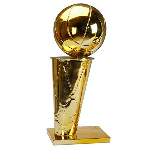 """Yoyogi NBA-Meisterschaft Trophy, FMVP Trophy, MVP-Trophäe NBA, Basketball Trophy Geeignet for NBA Fans, Souvenir, Dekoration, Auszeichnungen for Verschiedene Basketball Spiele (Size : A-45 cm/17.7"""")"""