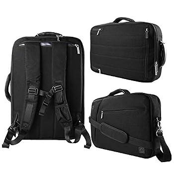 Black 10  to 12-inch Convertible Laptop Bag for HP EliteBook Pro Slate 12 Elite X2 Spectre Pavilion