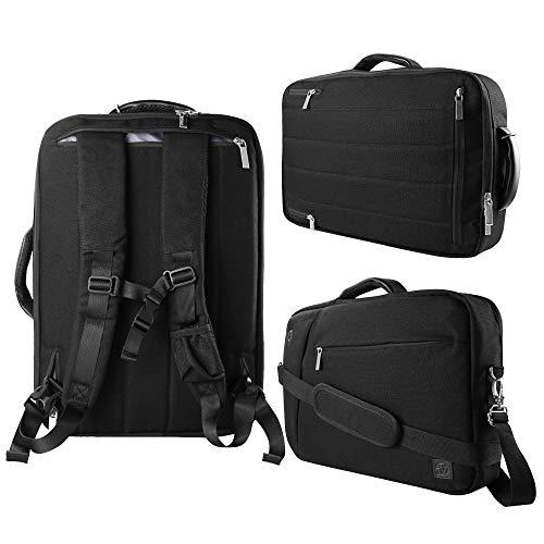 "VanGoddy Slate Black 10\"" to 12-inch Convertible Laptop Bag for HP EliteBook, Pro Slate 12, Elite X2, Spectre, Pavilion"