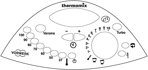 Thermodernisate Autocollant en vinyle pour réparation de panneau de commande TM31 (Blanc)