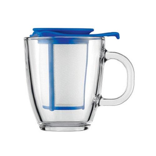 Bodum Yo-Yo Tea Strainer Set Blue - The Yo-Yo tea infuser set from Bodum...