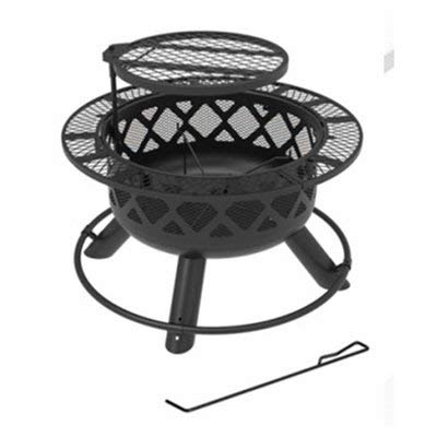 Shinerich Industrial 258363 24 in. Ranch Fire Pit