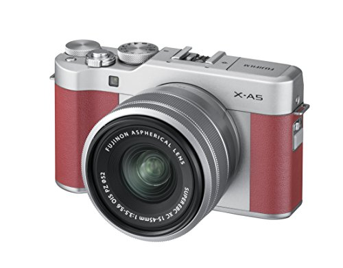 Fujifilm X-A5 24 MP Mirrorless Camera with XC 15-45mm Lens...