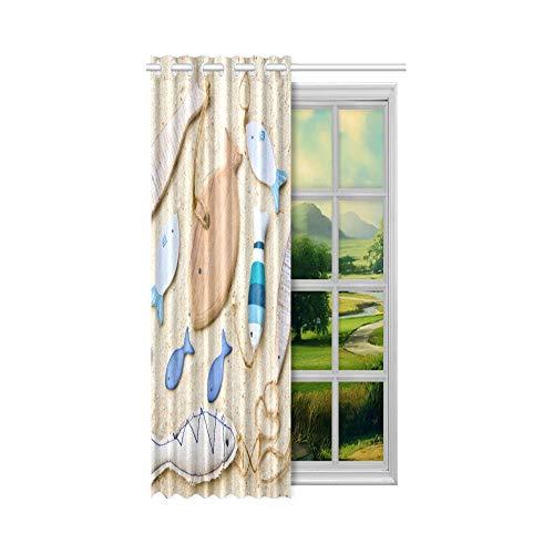 Generies Schlafzimmer Tür Panel Movie Clapper und Filmrolle Kino Keller Fenstervorhänge 52x63 Zoll (132x160cm) 1 Panel Blackout Tülle Vorhang für Schlafzimmer Wohnzimmer