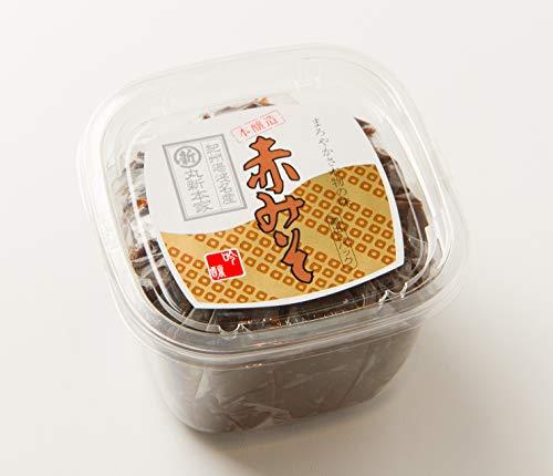 赤みそ 400gカップ 国産原料使用・無添加☆長期熟成☆麦入り赤味噌