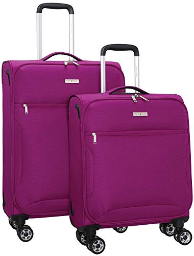 Regent Square Travel - Expandable Softside Luggage Set with Spinner...