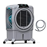Symphony Sumo 75 XL Powerful Desert Air Cooler 75-litres, Air Fan, Easy-Fill, 3-Side Honeycomb Pads, i-Pure Console & Low Power Consumption (Grey)