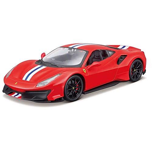 Maisto 1:24 Assembly Line Ferrari 488 Pista - Red