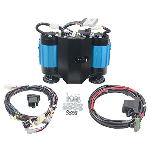 High Output 12V Twin Air Compressor Universal CKMTA12 Universal