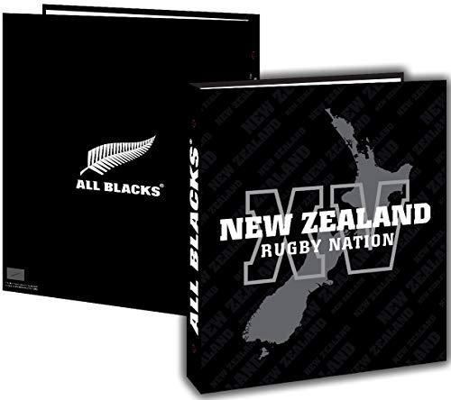Classeur A4 ALL BLACKS - Collection officielle - Rentrée scolaire - Rugby - C.
