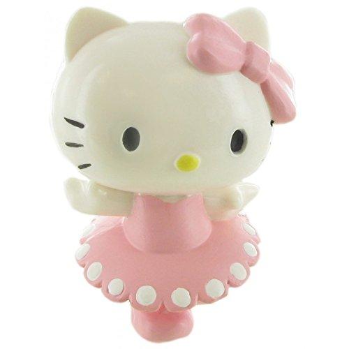 Hello Kitty- Figura Bailarina 6cm (Comansi 99981)