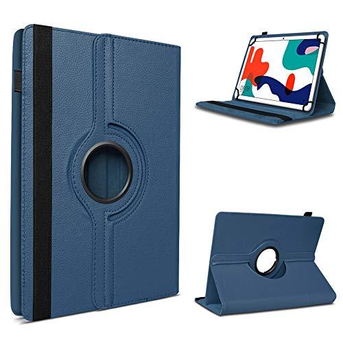 UC-Express - Custodia per tablet Huawei MatePad T10, 9,7 pollici, con rotazione a 360°, colore: Blu