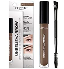 Longwear Eyebrow Gel: This waterproof eyebrow gel fills and thickens eyebrows for long lasting wear. Build and sculpt your dream brow from intense to natural looking eyebrows Waterproof Formula: Formulated with longwear polymers that create a waterpr...
