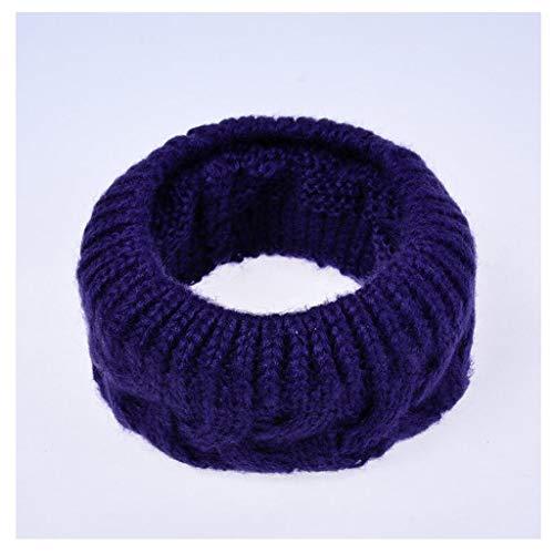 Effen sjaal kleur hals dragen mannen warme sjaals gebreide katoenen sjaal vrouwen winter hals accessoires unisex sjaal