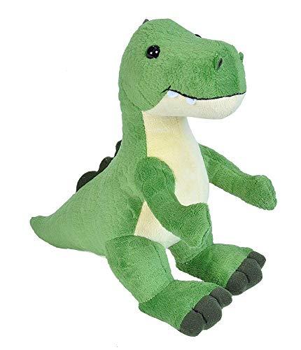 Wild Republic 22237 Plüschtier Baby Dino T-Rex Kuscheltier, Dinosaurier Stofftier 25 cm, Multi