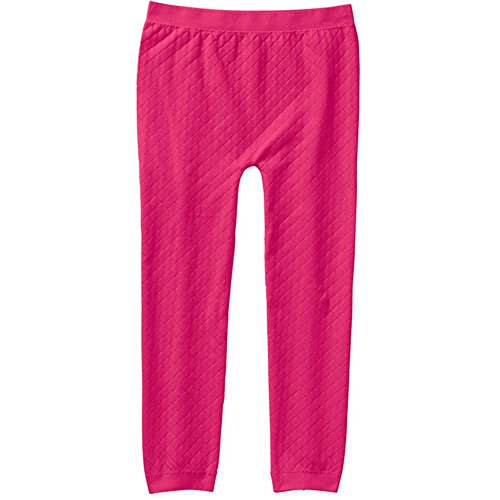 Miss Majesty Quilted Seamless Leggings, (7-16, Pink Baseline)