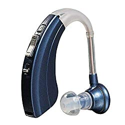 "Britzgo Digital Hearing Aid Amplifier Bha-220, 500hr Battery Life,""fda Approved"", Blue, Blue, 5 Ounce"