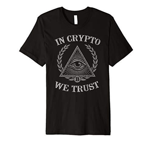In Crypto WE TRUST Shirt Bitcoin kryptowährung