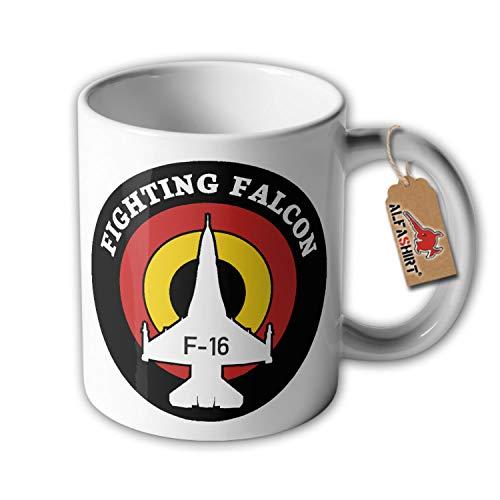 Beker van de gevechten Falcon F-16 Arabica koffie algemene doel Fighter Reservist # 33870