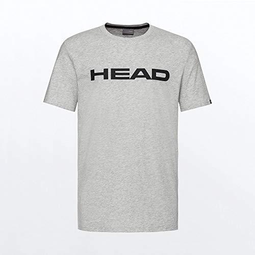 HEAD Club Ivan T-Shirt M T_Shirts Homme Gris Melange/Noir FR : 3XL (Taille Fabricant : 3XL)