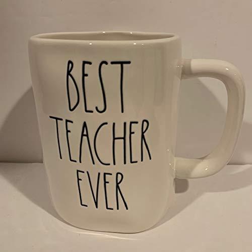 Rae Dunn BEST TEACHER EVER Coffee Tea Mug - ceramic
