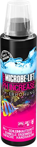 MICROBE-LIFT pH-Increase – PH Erhöhung einfach und sicher im Meerwasser Aquarium, 236 ml