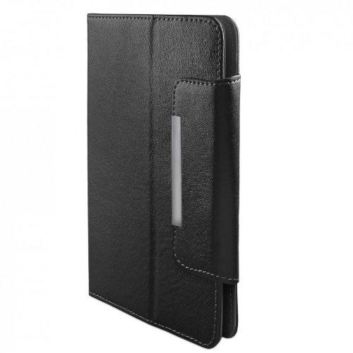 eFabrik Tasche für Intenso TAB814 (8 Zoll) Tablet Hülle Schutztasche Zubehör Schutzhülle mit Aufstellfunktion Kunstleder schwarz